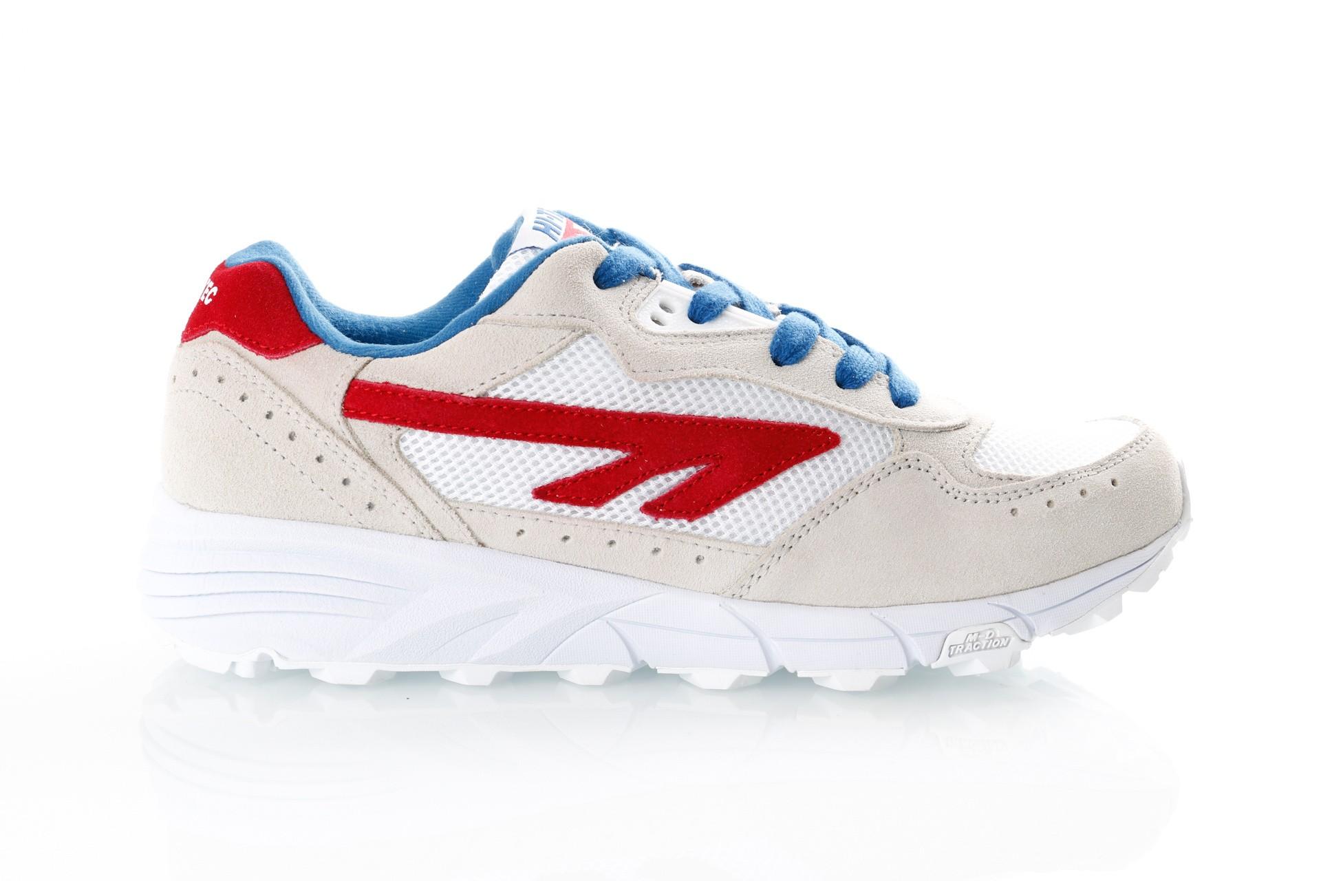 Foto van Hi-Tec Shadow Tl S010005/011 Sneakers Corp White/Red/Blue