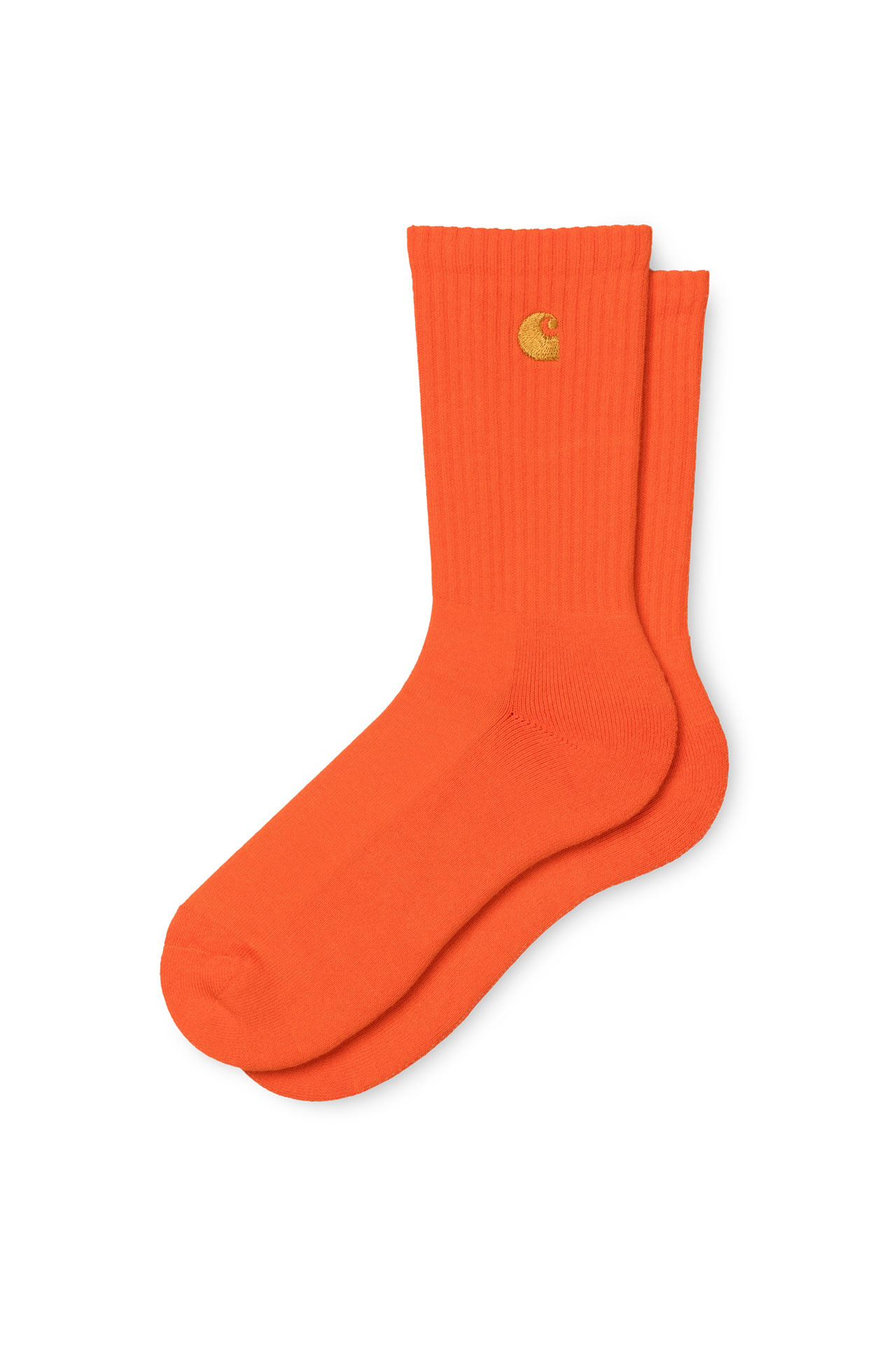 Foto van Carhartt Sokken Chase Socks Safety Orange / Gold I026527