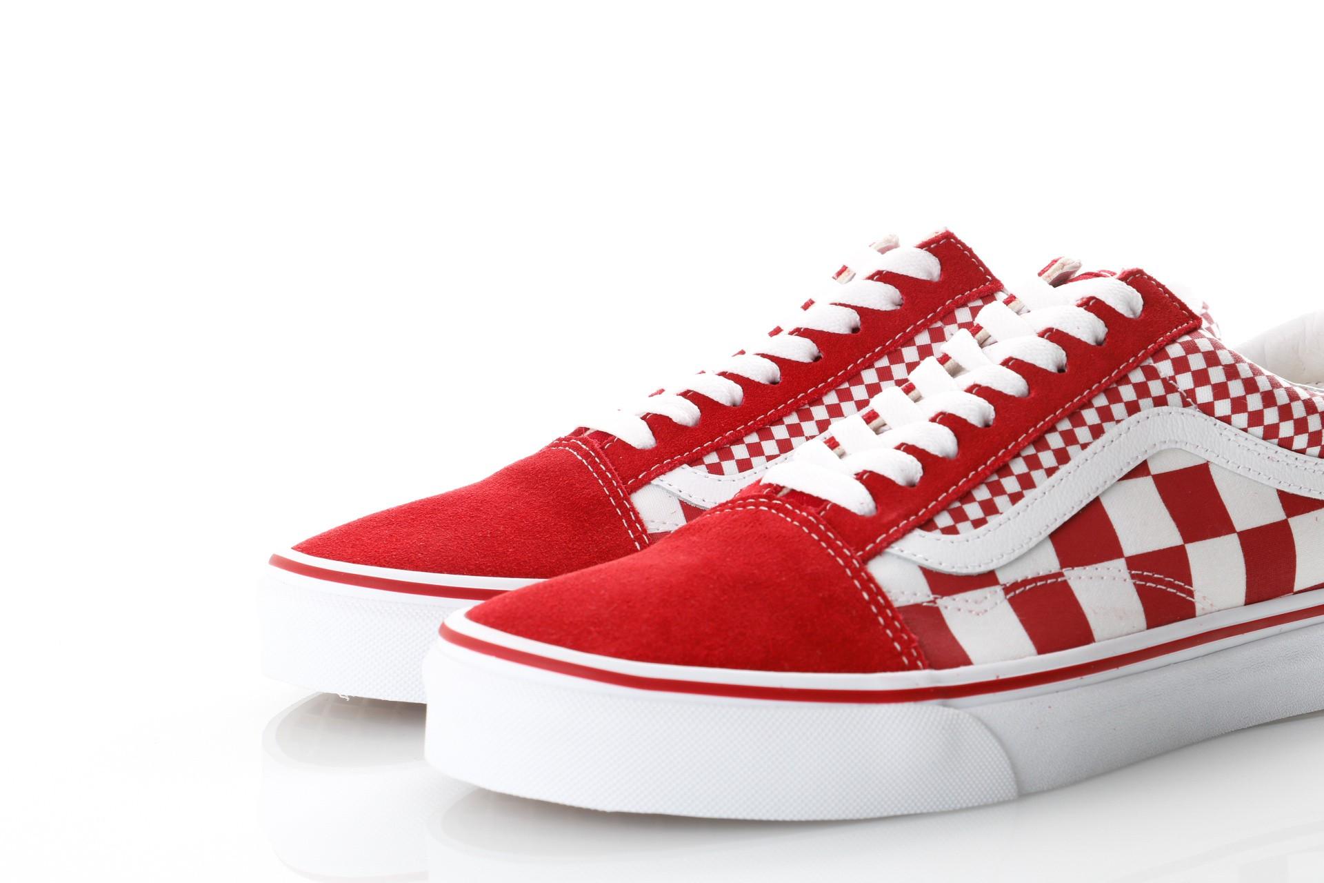1f4a0a021bc Afbeelding van Vans Ua Old Skool Vn0A38G1Vk5 Sneakers (Mix Checker) Chili  Pepper True