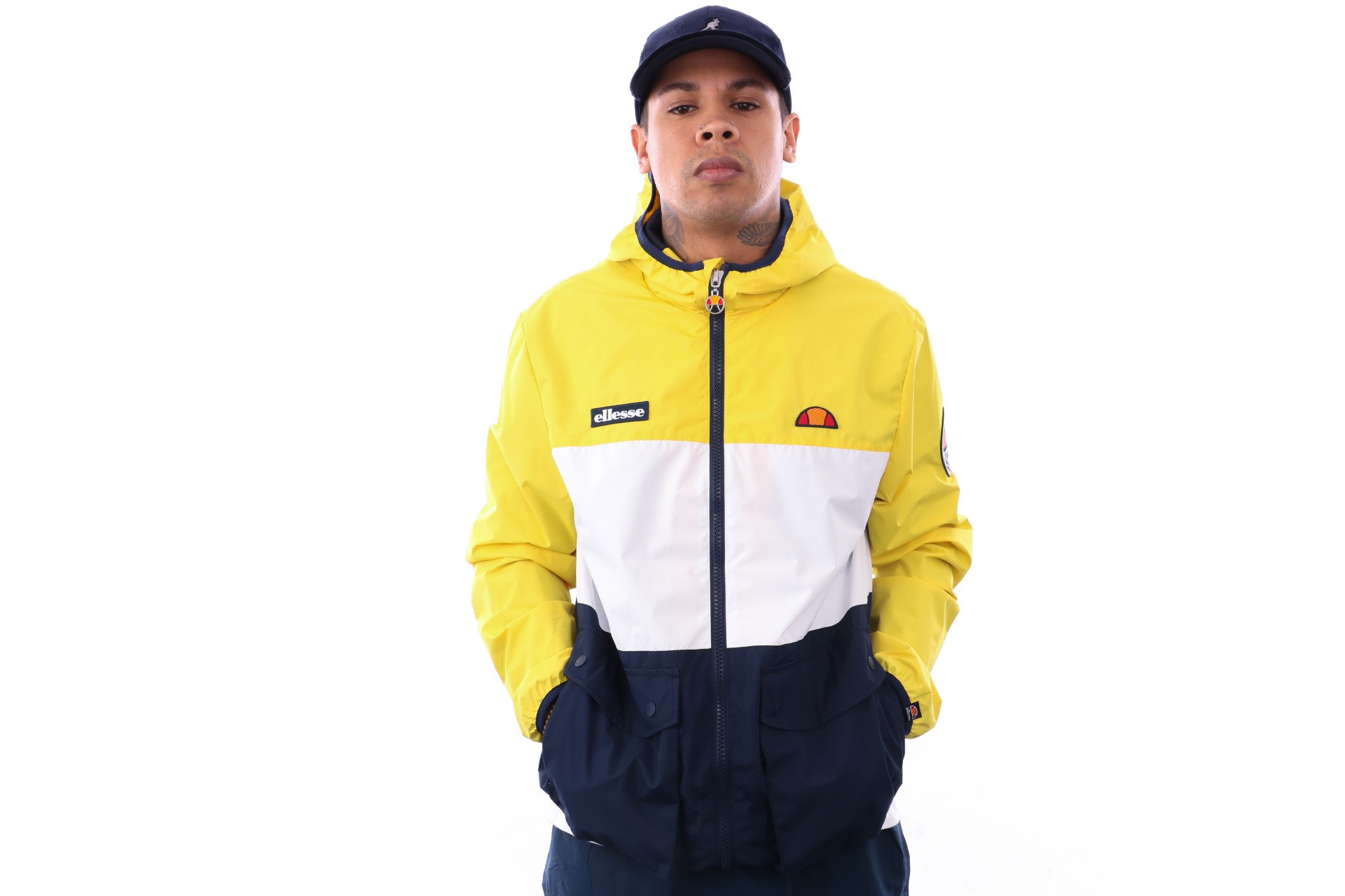 Foto van Ellesse Trio SHA06348 Jacket Yellow