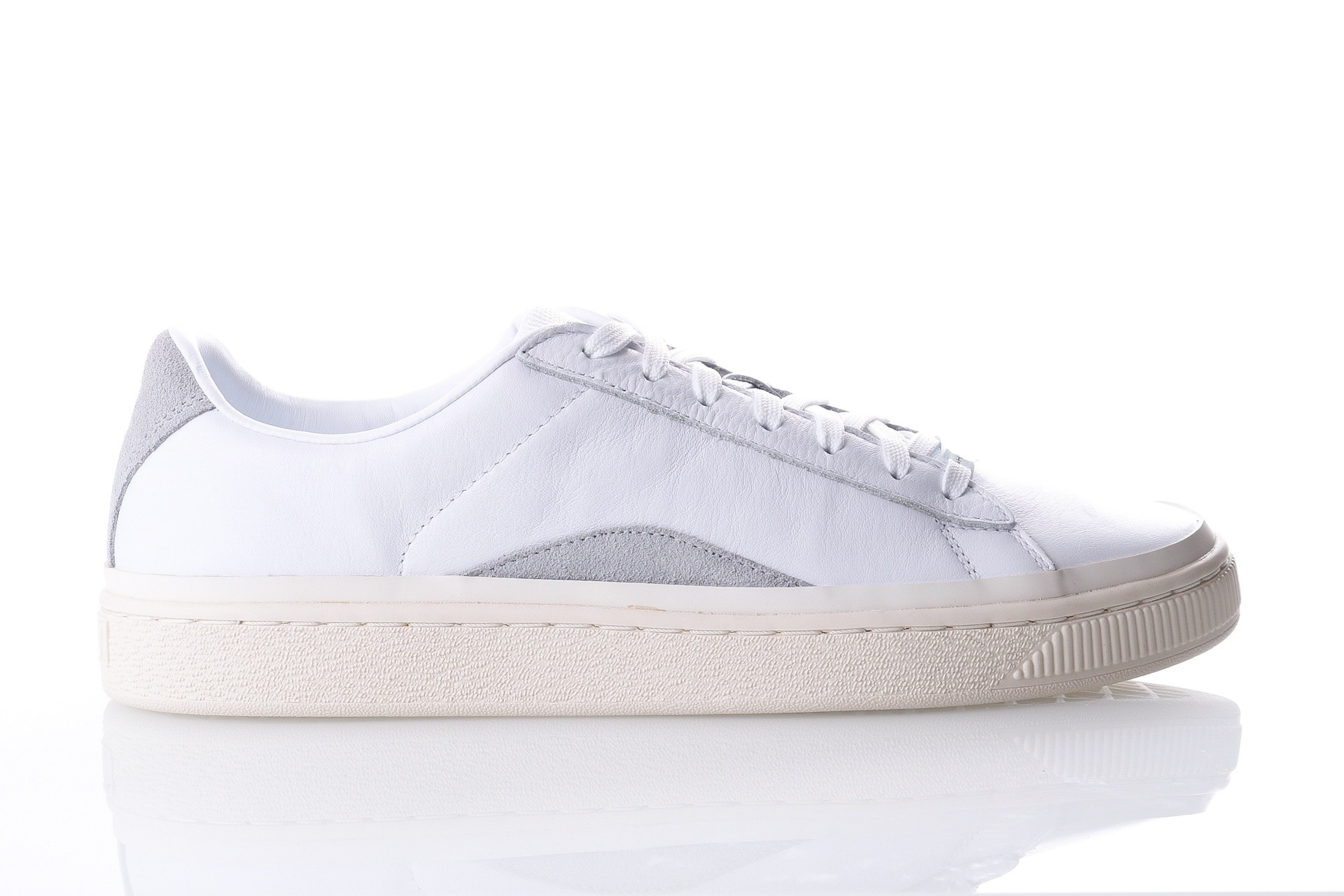 Foto van Puma Basket HAN 367185 Sneakers puma white-whisper white