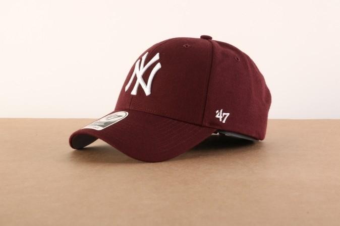 Foto van 47 Brand B-MVP17WBV-KMA Dad cap Mvp NY Yankees Bruin