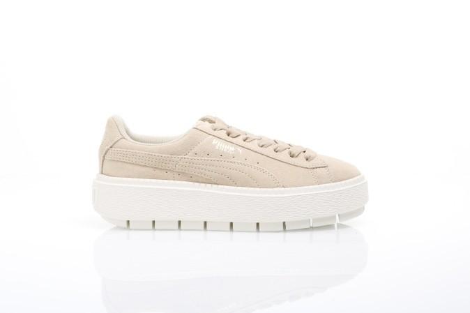 Foto van Puma Ladies 365830-02 Sneakers Platform trace Bruin