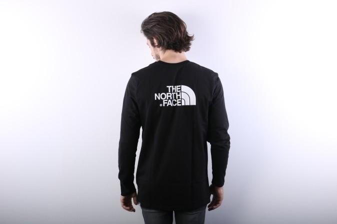 Foto van The North Face T92TX1-JK3 Longsleeve Easy Tnf black