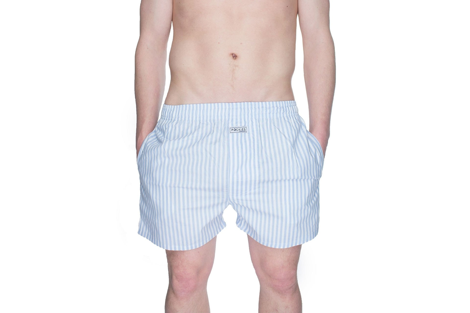 Foto van Pockies Boxershort Baby Stripes Blue