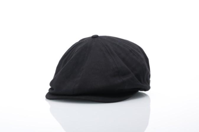 Foto van Brixton 00006 Flat cap Brood Zwart
