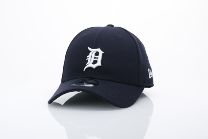 Afbeelding van New Era 10047523 Dad Cap The League Detroit Tigers Official Team Colors