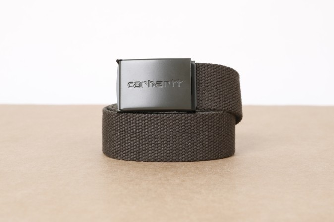 Foto van Carhartt WIP I020451-6300 Belt Clip tonal Groen