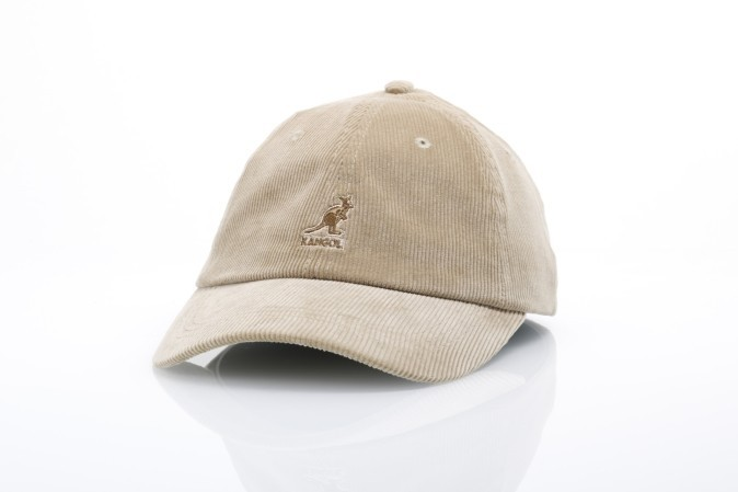 Foto van Kangol K5206HT Strapback cap Cord baseball Bruin