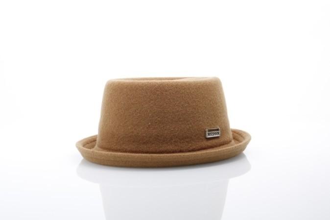 Foto van Kangol K1928ST Hat Wool mombray Bruin
