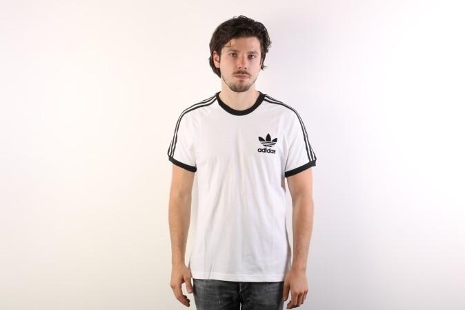 Foto van Adidas Originals AZ8128 T-shirt Clfn Wit