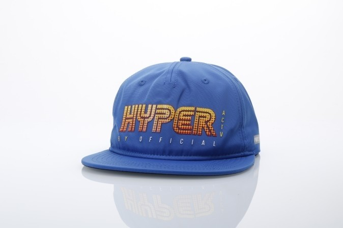 Foto van Official SS17-5008 Strapback cap Horizon Blauw