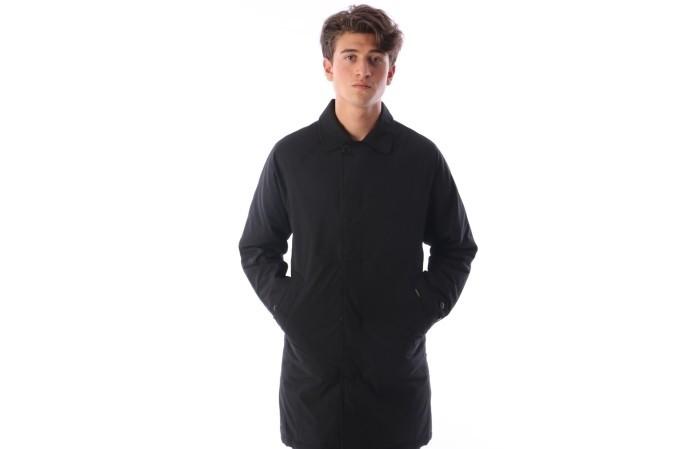 Foto van Carhartt WIP I023366-8900 Jacket Atlas trench coat Zwart