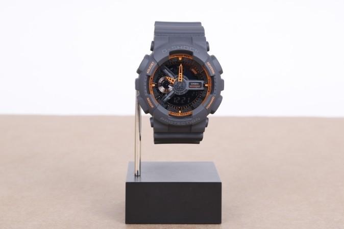 Foto van Casio G-Shock GA-110TS-1A4ER Watch GA-110TS Grijs