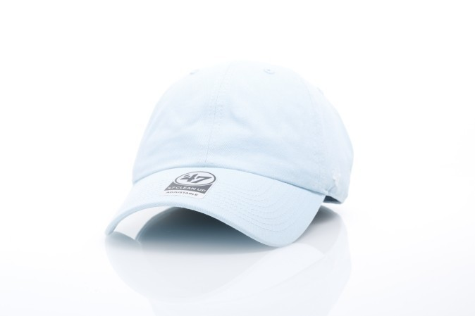 Foto van 47 Brand BL-GW00GWSNL-LC Dad cap Classic clean up Light columbia
