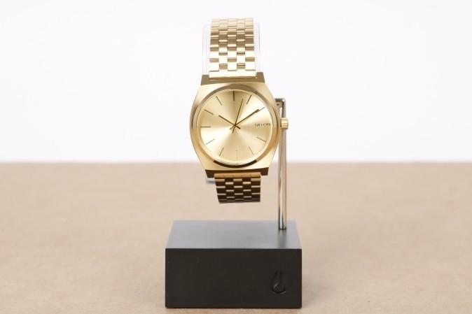 Foto van Nixon A045-511-00 Watch Time teller Goud