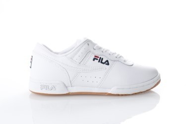 Foto van Fila Ladies 5VF80172-150 Sneakers Original fitness suede Wit