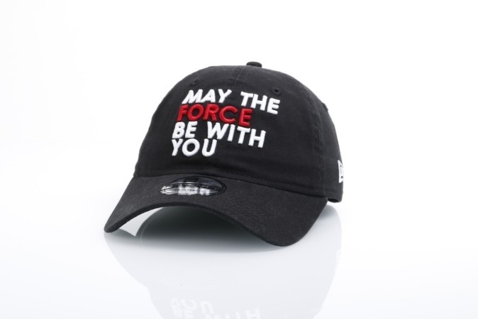 New Era 70421178 Dad Cap Star Wars May The Force Be With You Zwart