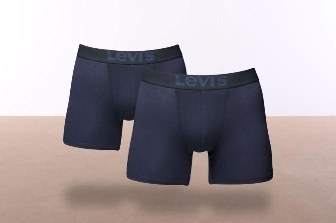 Afbeelding van Levi's Bodywear 951007001-824 Boxershort 200SF brief 2-pack Blauw