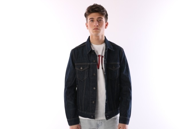Foto van Levi's 72344-01470 Jacket The trucker Groen