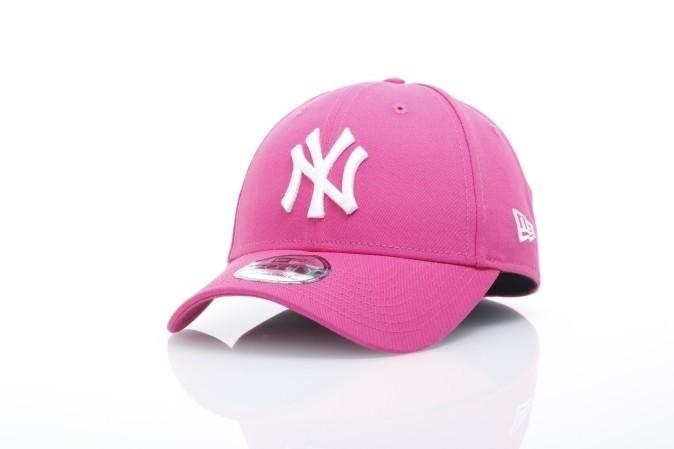 Afbeelding van New Era 11466594 Dad cap 9Forty brights NY Yankees Roze