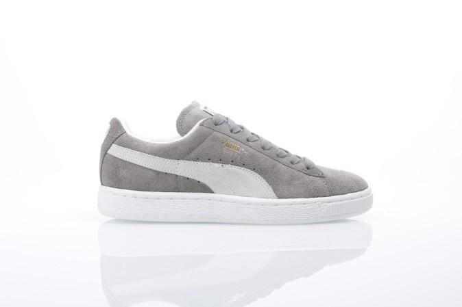 Foto van Puma 352634-66 Sneakers Suede classic+ Grijs