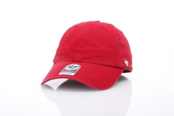 Afbeelding van 47 Brand BL-GW00GWSNL-RD Dad cap Classic clean up Rood