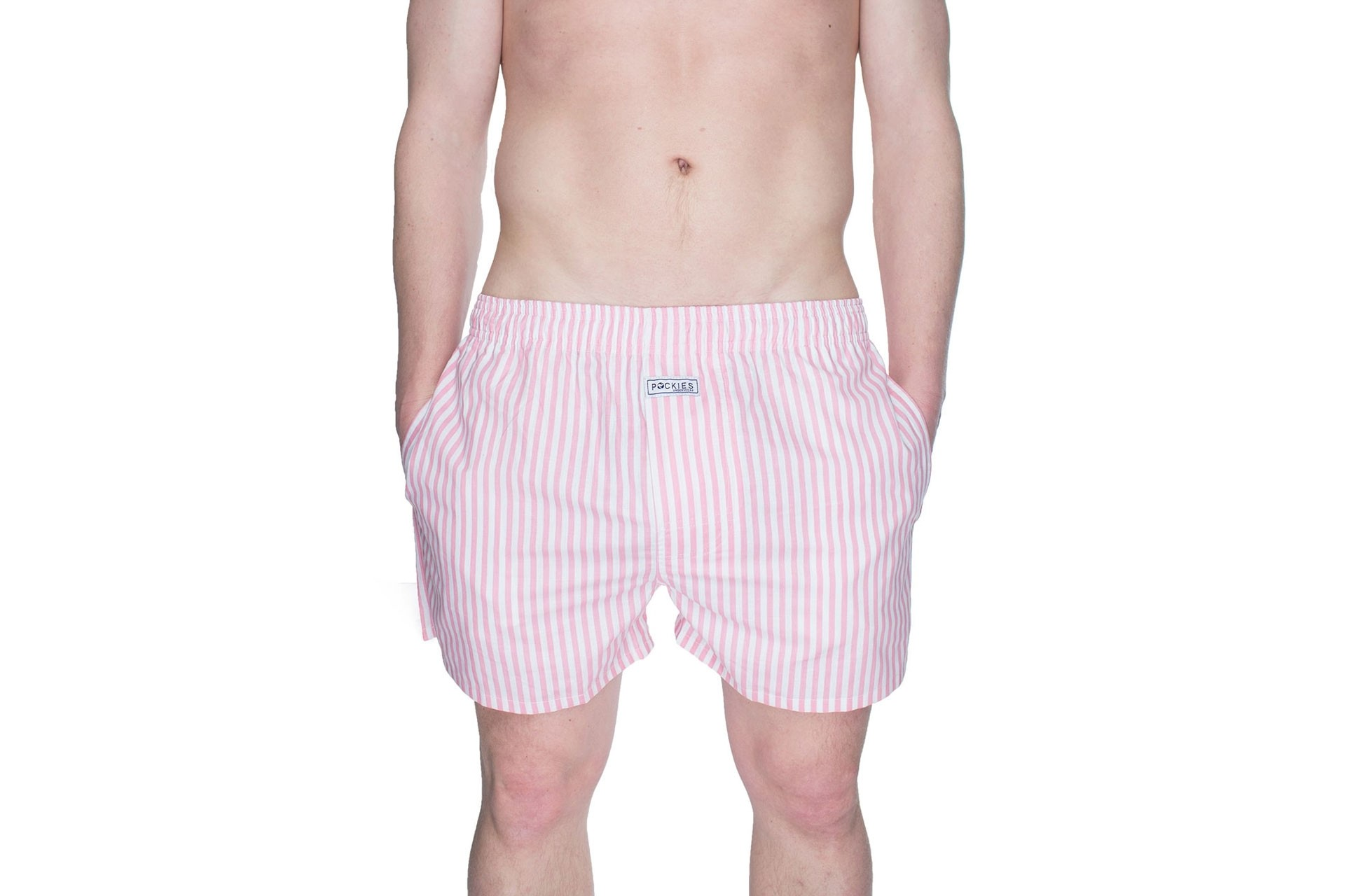 Foto van Pockies Boxershort Pink Stripes Pink
