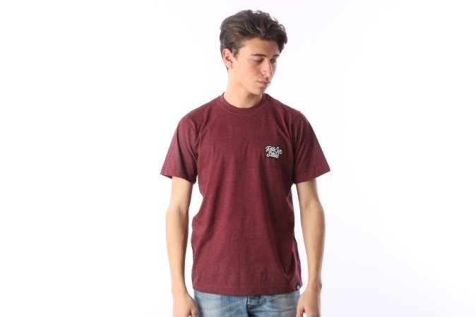 Foto van Rib.Eye.Steak RES-FW17-008 T-shirt Script Bruin