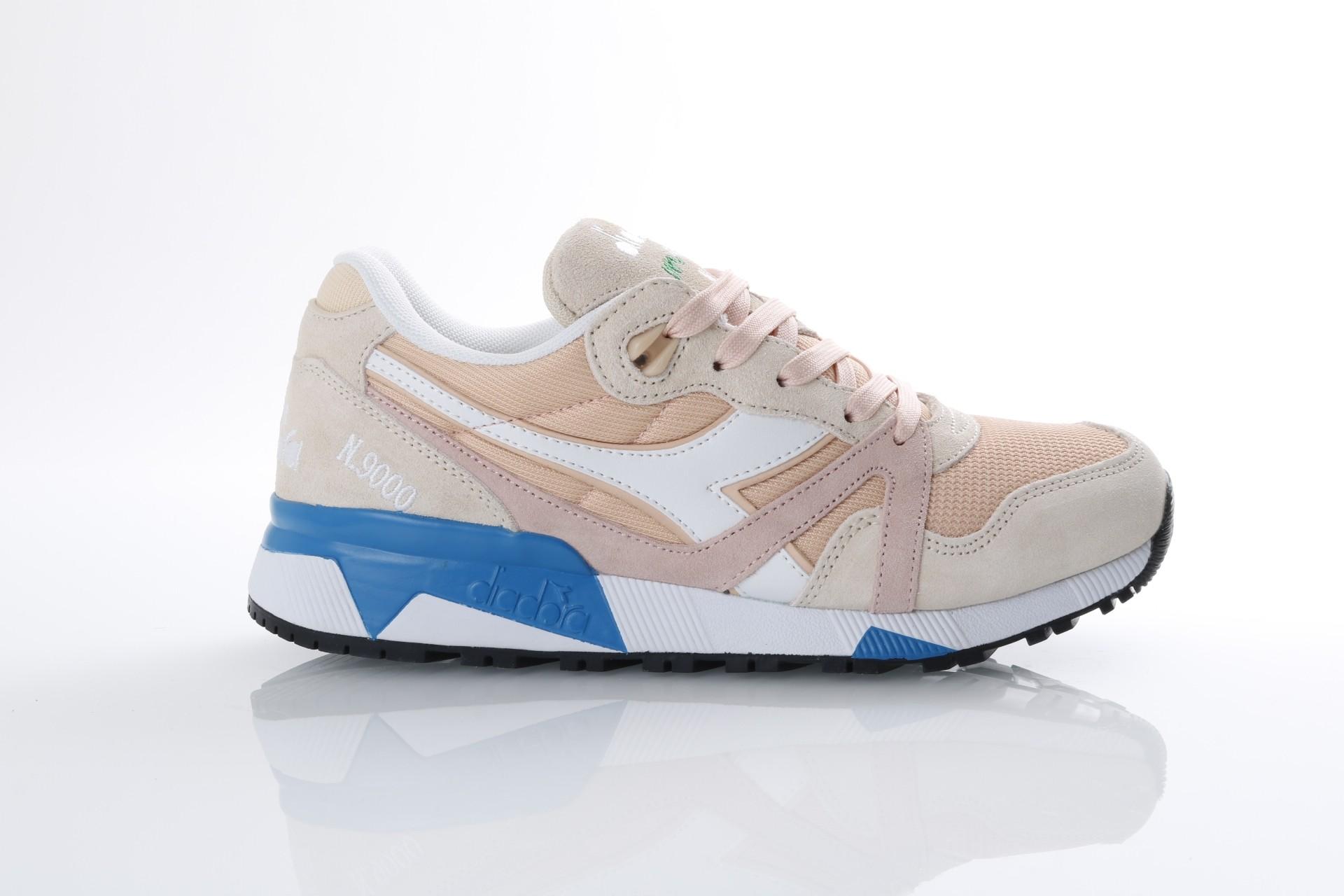 Afbeelding van Diadora 501.171.853-C7376 Sneakers N9000 III Bisque/bleached sand/vivid blu