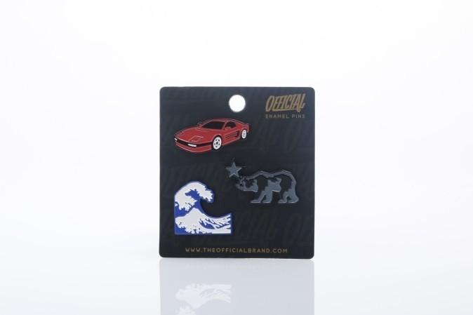 Afbeelding van Official SS17-0011 Pins Icon pin Zwart