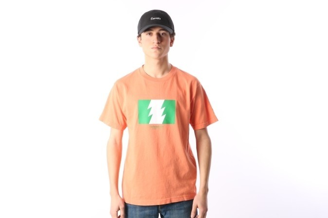 Foto van The Hundreds X Carrots By Anwar L17W301001 T-shirt Anwar wild fire Roze