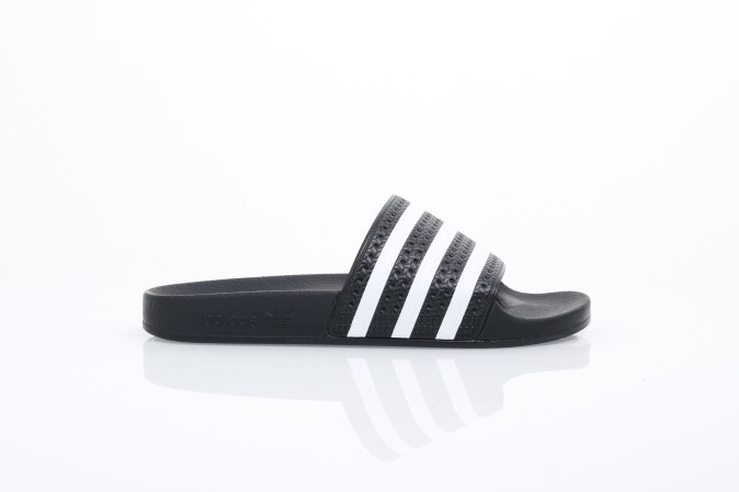 Foto van Adidas Originals 280647 Slide Sandal Adilette Adicolor Const Zwart