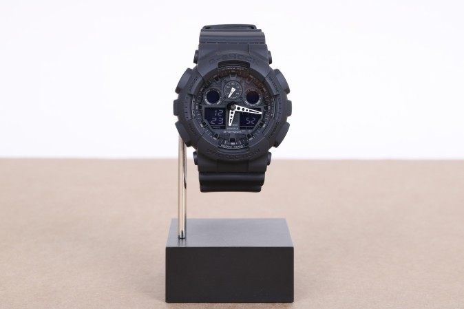 Foto van Casio G-Shock GA-100-1A1ER Watch GA-100 Zwart