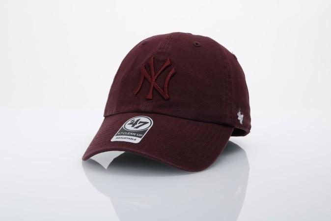 Afbeelding van 47 Brand B-RGW17GWS-KMB Dad cap Clean up NY Yankees Bruin