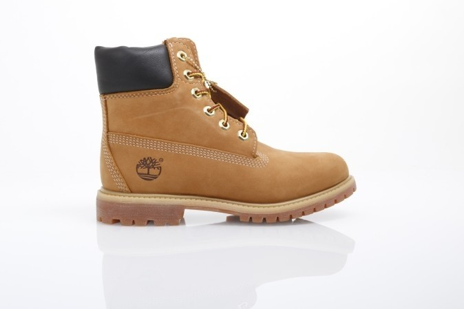 Foto van Timberland Ladies C10361 Boots 6in premium Bruin