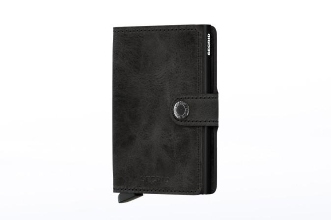 Afbeelding van Secrid MV-BLACK Wallet Miniwallet vintage Zwart