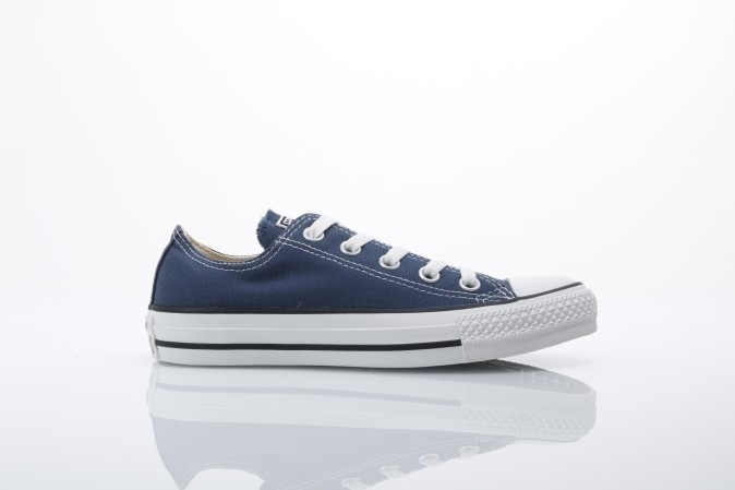 Foto van Converse M9697C Sneakers All Star Ox Blauw