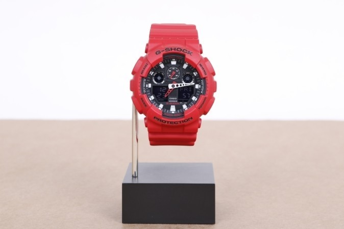 Foto van Casio G-Shock GA-100B-4AER Watch GA-100B Rood