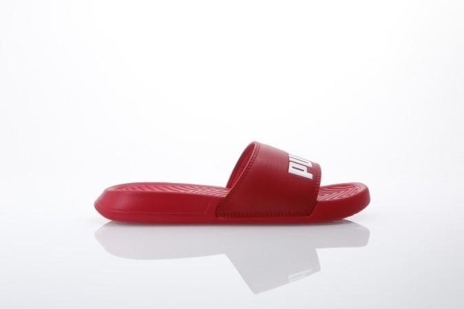 Foto van Puma 360265-13 Slide sandal Popcat Rood