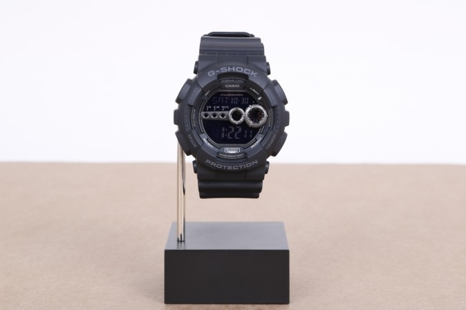 Foto van Casio G-Shock GD-100-1BER Watch GD-100 Zwart