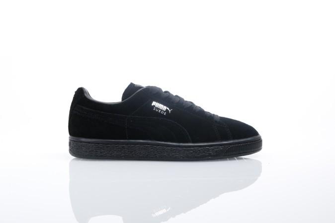 Foto van Puma 352634-77 Sneakers Suede classic+ Zwart