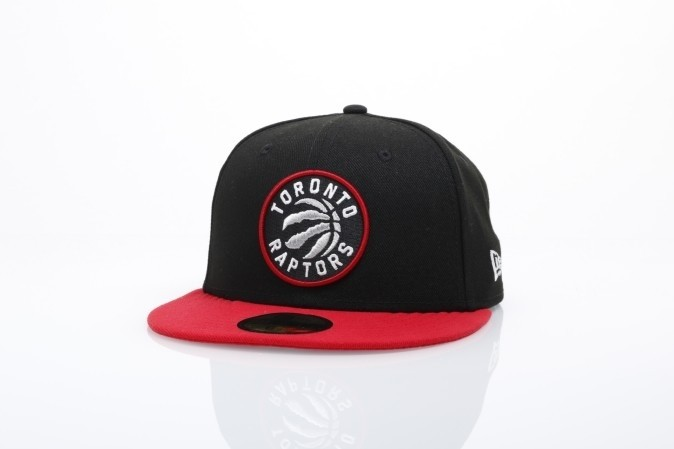Foto van New Era 11493384 Fitted cap NBA team 59fifty Toronto Raptors Official team colors