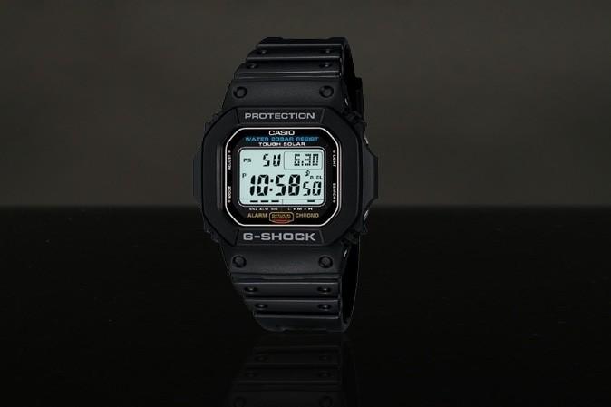 Foto van Casio G-Shock DW-5600E-1VER Watch DW-5600E Grijs