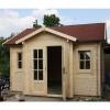 Bild 11 von Azalp Blockhaus Essex 500x450 cm, 30 mm