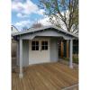 Bild 6 von Azalp Blockhaus Tim 400x400 cm, 45 mm