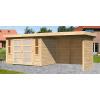 Afbeelding 2 van Woodfeeling Leuven 4 met veranda 280 cm