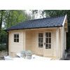 Bild 21 von Azalp Blockhaus Kinross 450x450 cm, 30 mm