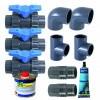 Afbeelding van Ubbink Deluxe bypass-set voor zwembad warmtepomp
