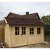 Bild 14 von Azalp Blockhaus Lynn 500x350 cm, 45 mm